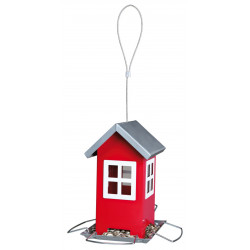 Trixie Bird feeder, red, to hang size: 19 cm, bird. Outdoor feeders