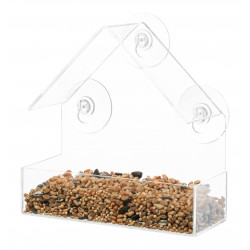 Trixie Bird feeder to be fixed to the window. Outdoor feeders
