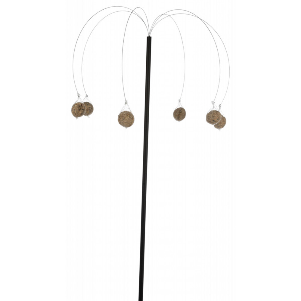 Trixie Palm tree feeder with grease ball, height of the bar 1.40 m. birds. Outdoor feeders