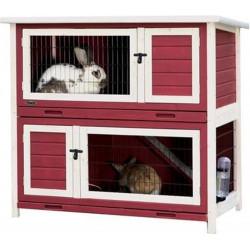 Trixie Conigliera a 2 piani per piccoli animali. TR-62407 Hutchman