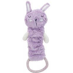 Trixie Jouet peluche junior extensible 33 cm, couleurs aléatoires. pour chien. Peluche pour chien
