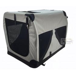 Vadigran Box de transport voiture XL .59 x 81 x 59 cm. pour chien Cage de transport