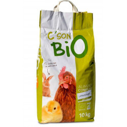 C'son BIO Organic complete food, rabbits and young rabbits. Bag of 10 kg Food and drink