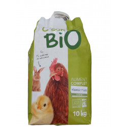 C'son BIO Organic complete feed, poultry 1st age. Bag of 10 kg Food and drink