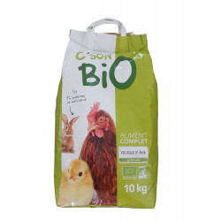 C'son BIO Organic complete feed, poultry 2nd age. Bag of 10 kg Food and drink