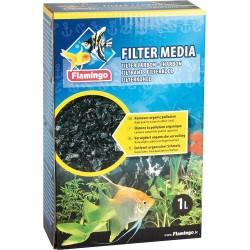 FL-400383 Flamingo Carbón filtrante 450 g para acuarios Medios filtrantes, accesorios