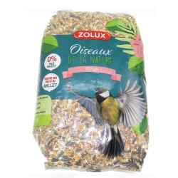 zolux Premium millet-rich seed mix 2.5 kg . for birds Nourriture graine