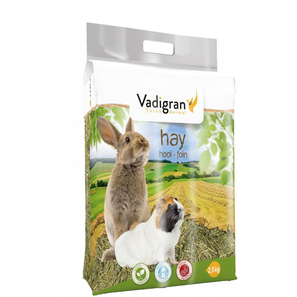 Vadigran Hay fodder. 75 litres or 2.5 kg. for rodents. Hay, litter, shavings