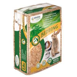 Vadigran BEDDING Hemp Mulch 2,8 KG for rabbits and rodents Hay, litter, shavings