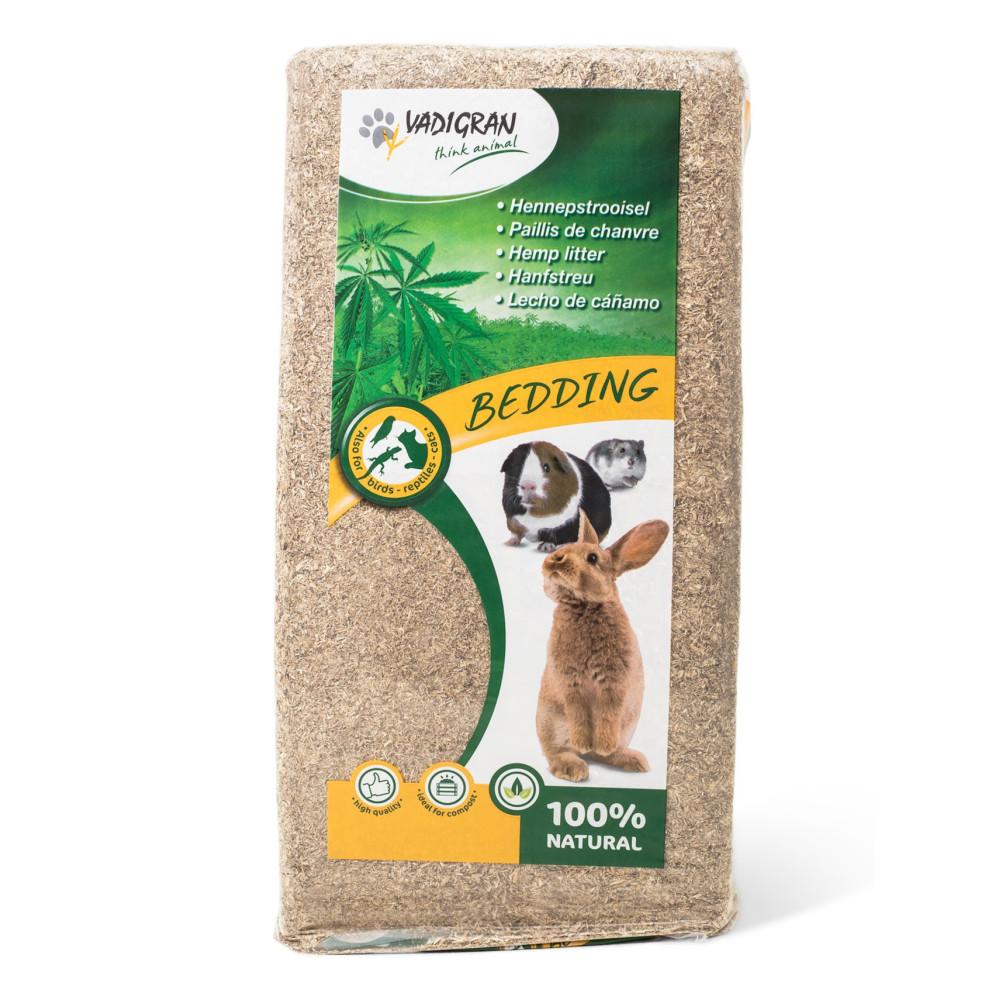 Vadigran BEDDING Hemp Mulch 15 KG for rabbits and rodents Hay, litter, shavings