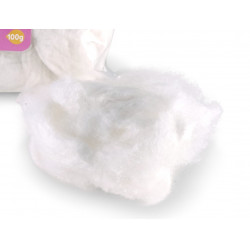 Cama de hamster branco de 100 gr. roedores. VA-14329 Camas, redes de dormir, ninhos