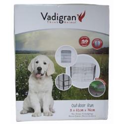 Vadigran Box esagonale con rete 76 x 61 cm. per cuccioli e grandi roditori. VA-18018 Enclos pour chien