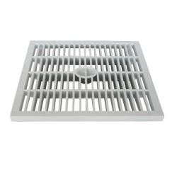 Générique 55 X 55 cm, pedestrian grid, for water draining manhole. Regard pluviale