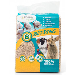 Vadigran Coton Bedding 40 liters 4 kg. for rodents. Litière rongeur