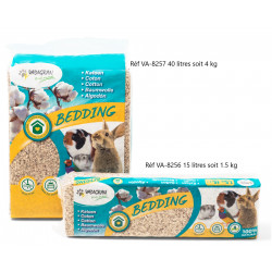 Vadigran Coton Bedding 15 liters 1.5 kg. for rodents. Litière rongeur