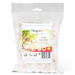 Vadigran Nido di cotone naturale 50 gr per criceto . roditori. VA-13614 Letti, amache, amache, nidiacei
