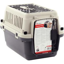 Caixa para cães Neto XS 33 x 50 x 33 cm . cinza . para cães FL-521283 Gaiola de transporte