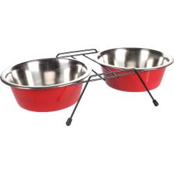 Miska Duo ø 21 cm. 1600 ml. z uchwytem Arjun. L. dla psów FL-520829 Flamingo Pet Products