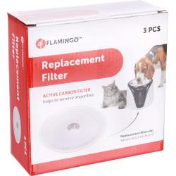 3 Filtros de substituição para Adriana Sensor Fountain preto. para cães e gatos. FL-561221 Fonte