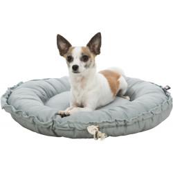 Felia cama e travesseiro cinzento ø 50 cm para cão pequeno TR-37391 Coussin chien