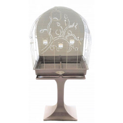 zolux Arabesque cage Anna 60 on legs. Taupe. Dimension: 62 x 42 x 142 cm. for birds. Cages, aviaries, nest boxes