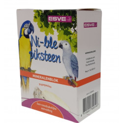 Vadigran Mineral stone ESVE NI-BLE 250 g. for Parrot. Complément alimentaire