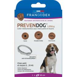 Obroża przeciwpasożytnicza Prevendog od 0 do 25 KG, dla małych i średnich psów FR-170131 Francodex