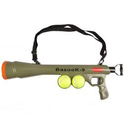 FL-517029 Flamingo Lanzador de pelotas con 2 pelotas de tenis de juguete para perros Jeux
