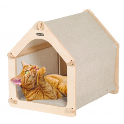 Alojamento para gatos 2, tamanho 41,5 x 31 x 37 cm para gatos ZO-504131 Couchage