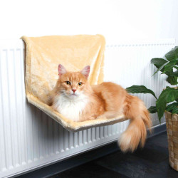 Trixie Radiator bed 48 × 26 × 30 cm beige for cats Sleeping