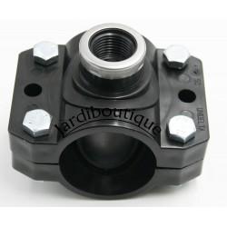 "UNIDELTA Reinforced grip collar Ø 50 mm 1/2"" - 4 clamping screws Support collar"