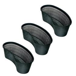 Conjunto de 3 Cestos Ovais 45 para bacia hidrográfica AP-57078278-X3 Bacia do cesto