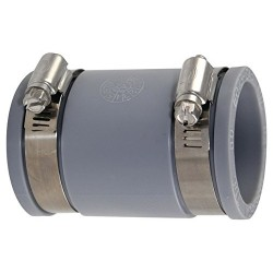 Interplast Multi-material fittings in flexible PVC diameter 38 to 43 mm PVC drainage connection