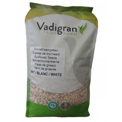 Sementes Grandes de Girassol Branco 2 kg VA-215050 Nourriture graine