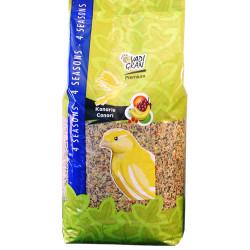 Semente de canário premium vita 4Kg. para aves. VA-451050 Nourriture graine