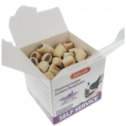 animallparadise Mini beef filled biscuits, 400 gr. box for dogs Nourriture