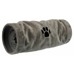 Trixie TR-42982 Play tunnel, grey plush ø 22 × 60 cm Games