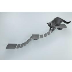 Trixie 150 cm Kletterleiter für die Wandmontage - Katze TR-49930 Wandmontagefläche