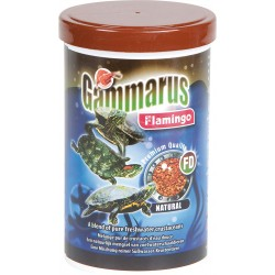Flamingo Pet Products Gammarus, Natural Food for Aquariums. 1000 ml. For water turtles Food and drink