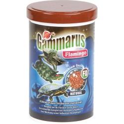 Flamingo Pet Products Gammarus, Natürliches Futter für Aquarien. 1000 ml. Für Wasserschildkröten FL-404034 Essen und Trinken