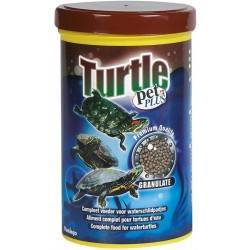 Flamingo Pet Products Complete food, pellets for water turtles, 1000 ml. for turtles. Food and drink