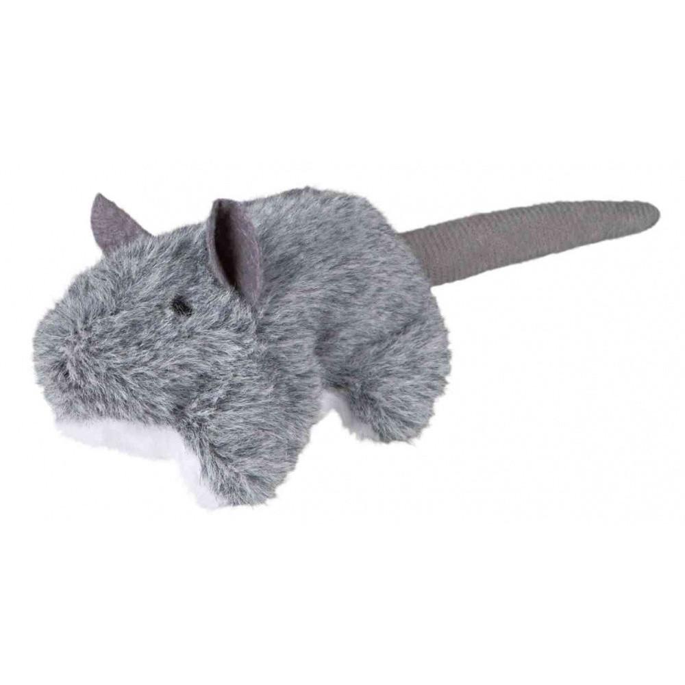 TR-45288 Trixie Ratón con hierba gatera, juguete de peluche para gatos Juegos