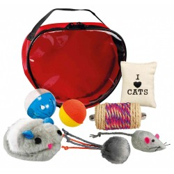 TR-4538 Trixie Set de jouets en sac pour chat Juegos
