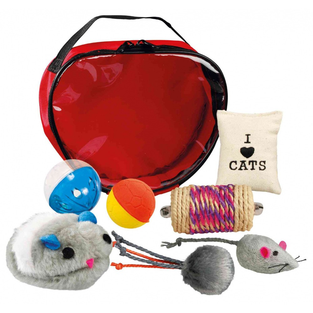 Trixie TR-4538 Set of toys in a bag for cats Games