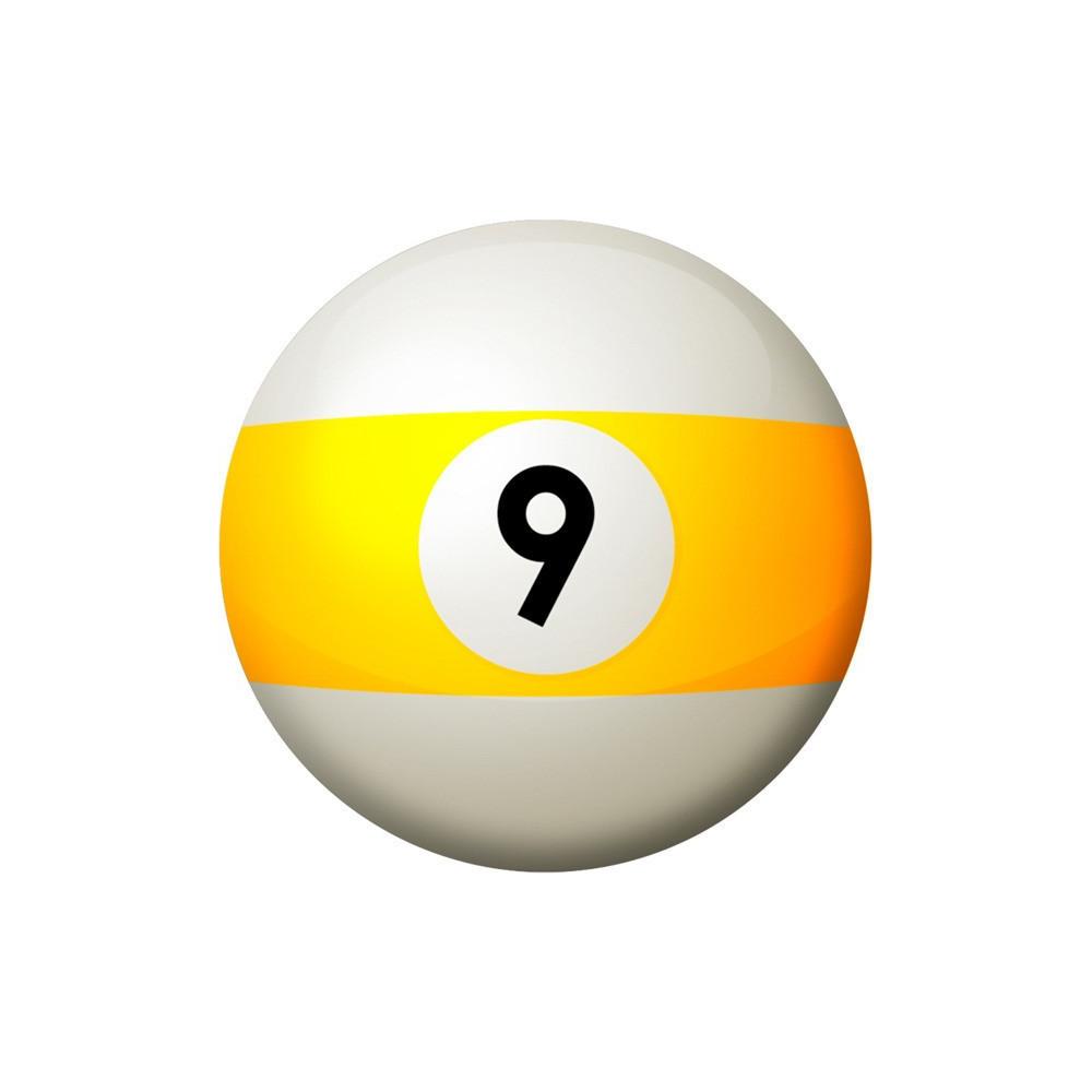 une Balle en caoutchouc mousse forme boule de Billard Ø 6,5 cm Jeux Flamingo FL-503985