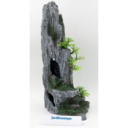 TR-8858 Trixie Roca de la cueva con planta, 37 cm - peces Decoración y otros