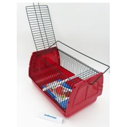 Cage transport 30 par 18 et 20 cm rongeur et oiseaux - couleur aléatoire Cages, volières, nichoir Trixie TR-5902