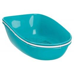 Maison de toilette Berto turquoise pour chat 39 × 42 × 59 cm Maison de toilette Trixie TR-40163