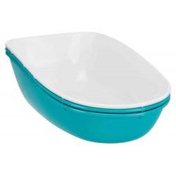 Trixie Maison de toilette Berto turquoise pour chat 39 × 42 × 59 cm TR-40163 Maison de toilette