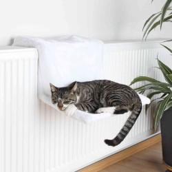 Lit radiateur 45 × 24 × 31 cm blanc pour chat Couchage Trixie TR-4321